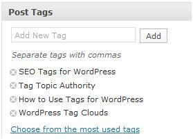 tagging articles, how to use post tags, post tag use, how to create post tags