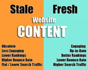 blogging tips, fresh and engaging content